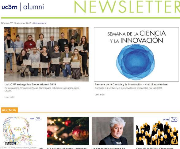 Portada newsletter noviembre